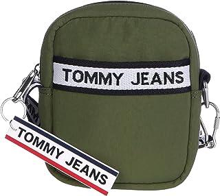 حقيبة ظهر سى ار كيه ال بشريط شعار تومي جينز, اخضر, AM0AM06039
