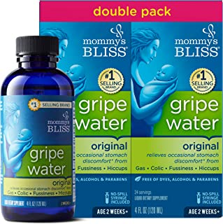 Mommy's Bliss – Gripe Water Original Double Pack – 8 FL OZ (2 Bottles)