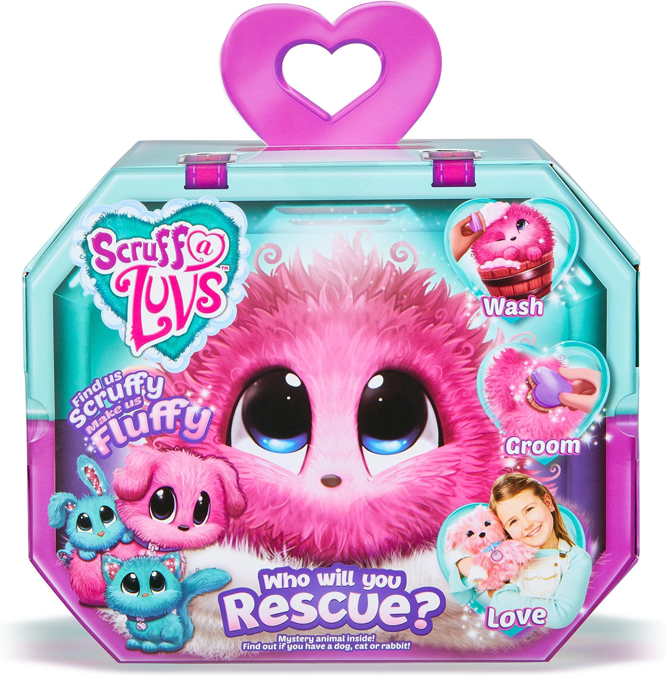 New Scruff-A-Luvs Plush Mystery Rescue Pet Who Will You Rescue Kid Birthday Gift