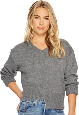 Asymmetric Knit Top