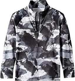 Limitless Camo Zip T-Neck (Big Kids)