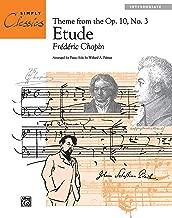 chopin etude op 10 no 3 sheet music