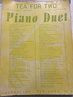 Tea For Two - Piano Duet