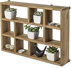 Best wood curio shelf Reviews