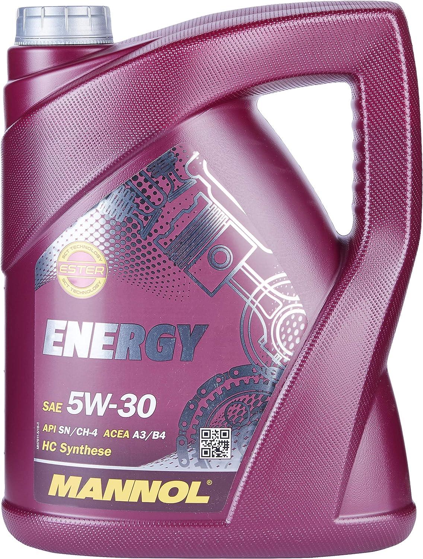 Mannol Energy 5w 30 Api Sl Acea A3 B3 20 Liter Auto