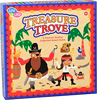 C.R. Gibson Pirate Treasure Educational Board Game for Kids