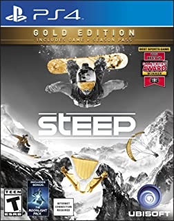 Steep: Gold Edition (Includes Extra Content + Season Pass subscription) - PlayStation 4 Gold Edition