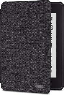 Amazon Kindle Paperwhite (第10世代) 用 ファブリックカバー チャコールブラック