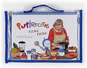 Pack libro de recetas de Pupi con delantal de regalo: Amazon.es ...