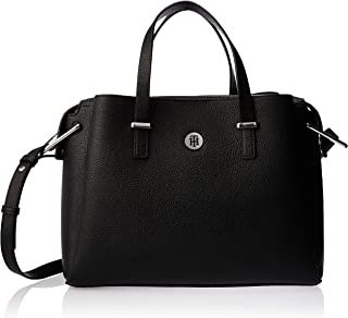 Tommy Hilfiger Th Core Satchel, Black, 33 AW0AW07308