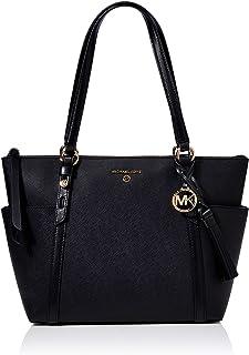 Michael Kors Womens Rhea Backpack, Black, medium