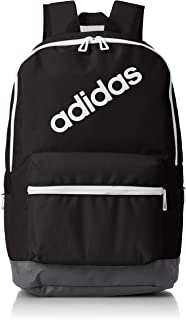 Adidas Backpack for Men - Polyester, Black/Carbon/White (CF6858)