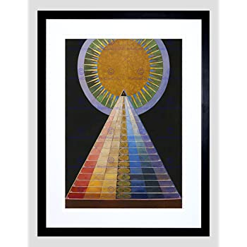 Painting Abstract Hilma Af Klint 1915 The Dove Number 12 12X16 Framed Art Print