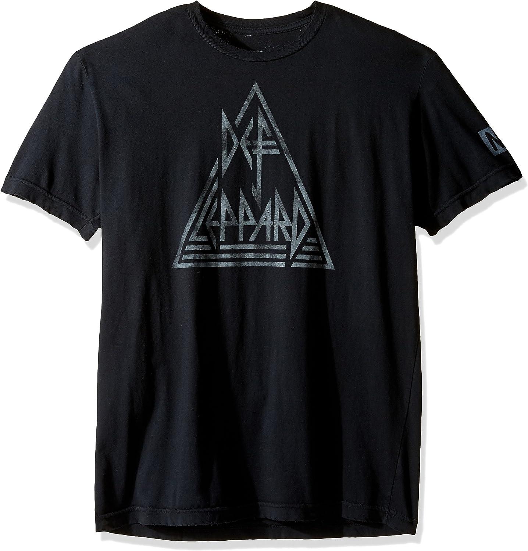 Neff Mens Def Leppared Distress Tee Shirt T-Shirt