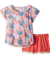 Lucky Brand Kids - Flora Printed Set (Little Kids)