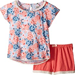 Flora Printed Set (Little Kids)