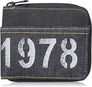 Diesel Men's SKOOLDWALLY Zippy HIRESH S-Wallet, Blue/black, UNI