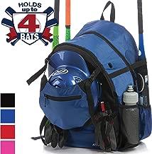 Athletico Advantage Baseball Bag - Baseball Backpack with External Helmet Holder for Baseball, T-Ball & Softball Equipment & Gear for Youth and Adults | Holds Bat, Helmet, Glove, Shoes
