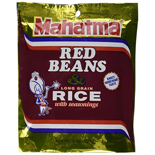 Mahatma Rice Mix Red Bean & Rice, Pack of 6
