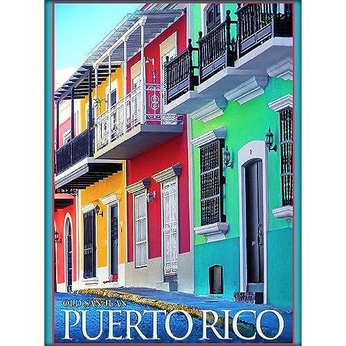 Puerto Rico Posters: Amazon com