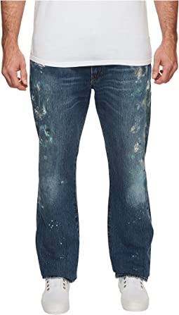 Big & Tall Hampton Relaxed Straight Jean in Sawyer Paint Spatter