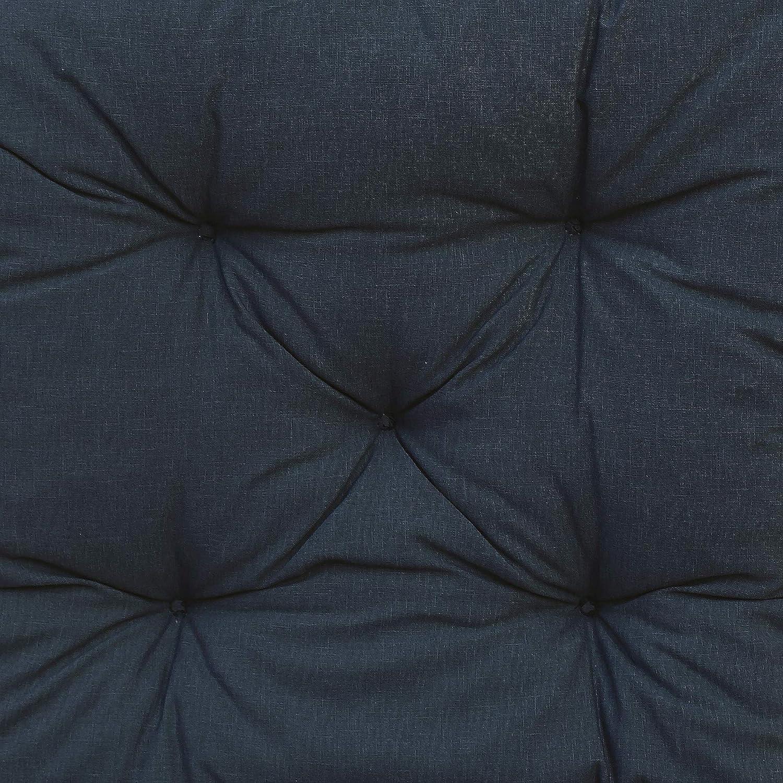blu Chicreat Cuscino da panchina 120 x 50 x 8 cm grigio