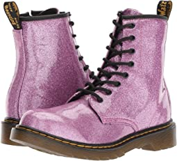 1460 Patent Glitter Youth Delaney Boot (Big Kid)
