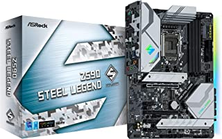 ASRock Intel 第10・11世代CPU(LGA1200)対応 Z590 チップセット搭載 ATXマザーボード 【国内正規代理店品】 Z590 Steel Legend