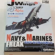 J-Wings Navy & Marine Freak CFR98 F/A-18D Hornet The Mighty Shrikes Military Aircraft 1/144 Scale Airplane Kit