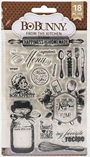 BoBunny Kitchen Stamps 4X6
