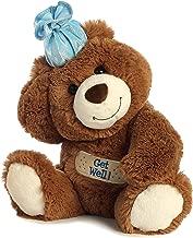 Aurora 1705 Get Well Bear World Plush Toy, Chocolate