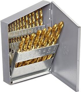 Alfa Tools S150101TN High-Speed Steel Jobber Drill Split Point Titanium Nitride Coated 1//16 12 Pack