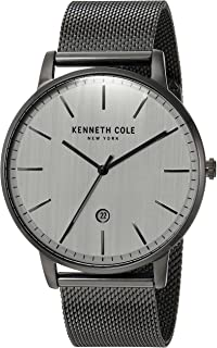 Kenneth Cole Men's Silver Dial Stainless Steel Band Watch - Kc50009003, Analog Display