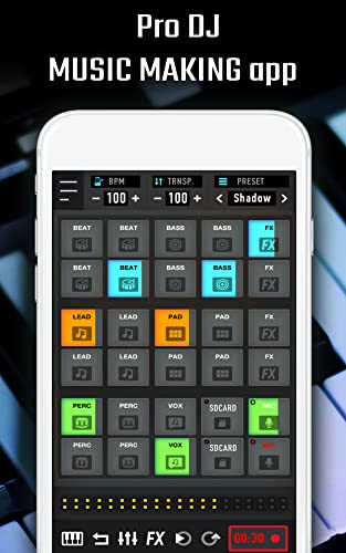 MixPads - Dj music maker pad