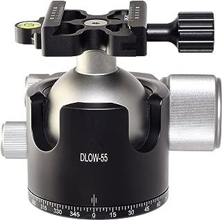 Desmond DLOW-55 55mm Low Profile Ball Head Arca / RRS Compatible w Pan Lock for Tripod
