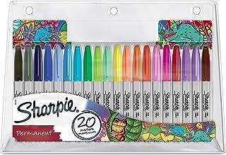 Sharpie permanent markeringssats, begränsad utgåva, fin spets, färgsorterad, 20 stycken