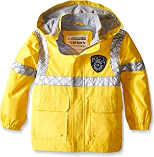 Boys' Apparel Police Raincoat Slicker