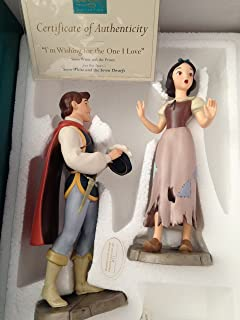 WDCC Snow white & Prince Charming; Wishing for the One I Love
