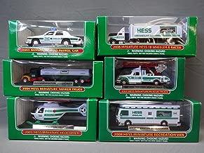 Hess Truck Mini / Miniature Lot Set 2003, 2004, 2005, 2006, 2007, and 2008