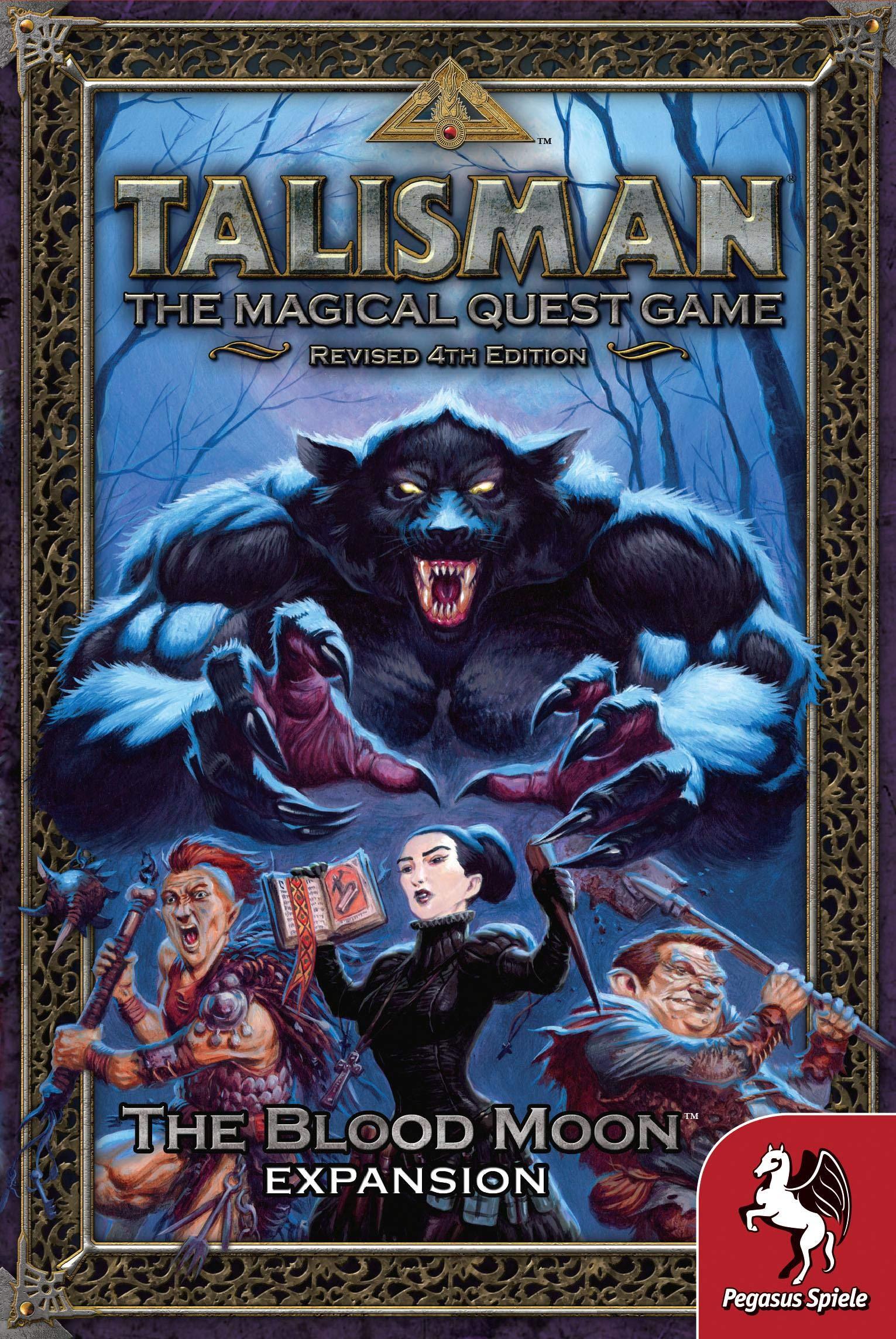 Pegasus Spiele 56207E Talisman The Blood Moon - Juego de Mesa [Importado de Alemania]: Amazon.es: Juguetes y juegos