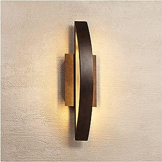 Modern Outdoor Wall Light Fixture LED Coppered Bronze 20 1/2