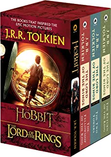 J.R.R. Tolkien 4-Book Boxed Set: The Hobbit and the Lord of the Rings: The Hobbit, the Fellowship of the Ring, the Two Tow...