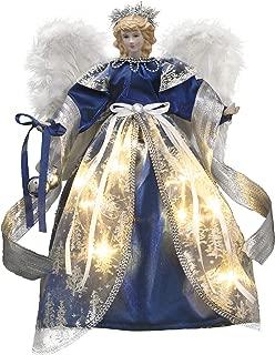 Best blue angel tree topper Reviews