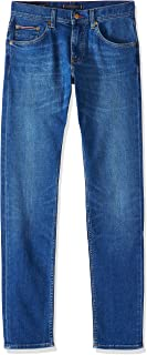 Tommy Hilfiger Men's Slim Bleecker PSTR Pelion Jeans