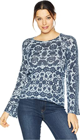 Damask Pullover Sweater