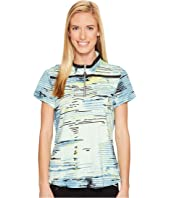 Jamie Sadock - Staccato Print Above Elbow Short Sleeve Top