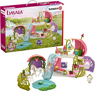 Schleich bayala Glittering Flower House with Unicorns 54-piece Imaginative Playset for Kids Ages 5-12