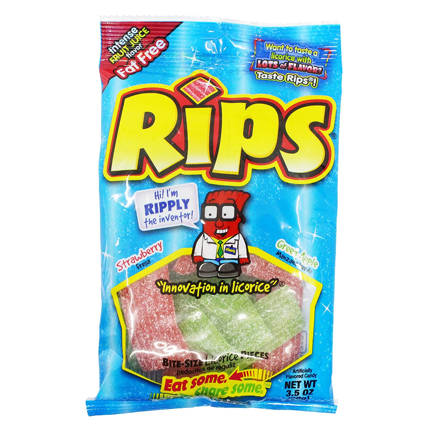 Rips Ranking TOP9 Strawberry Green Louisville-Jefferson County Mall Apple Bite-Size Sour 3 2 Licorice x Candy