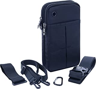 UTIMES 4 in 1 Multiple Function Shoulder Bag Waist Bag Wrist Pouch Tactical Pack for Phone & Daily Life