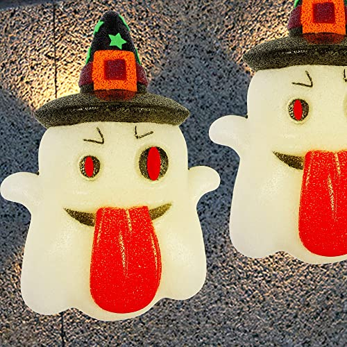 popular Twinkle Star 2 Pack Halloween Porch Light Covers, Decorative Ghost Porch Lamp Shade Cover for Indoor Outdoor, Sparkling EVA Ghosts Ornament, Party lowest Haunted online House Door Wall Lamp Decoration online sale